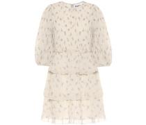 Minikleid aus Georgette