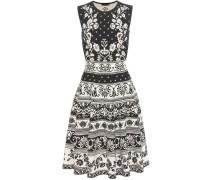Kleid aus Stretch-Jacquard