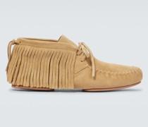 Paula's Ibiza Ankle Boots aus Veloursleder