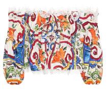 Bedrucktes Top aus Baumwolle