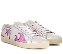 Verzierte Sneakers Signature Court Classic SL/06 Sea, Sex & Sun