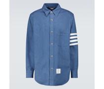 Hemdjacke 4-Bar aus Baumwolle