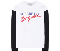Sweatshirt Superette Baguette aus Baumwolle