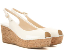 Wedge-Sandalen Praise aus Lackleder
