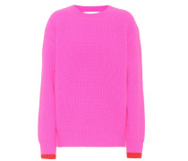 Oversize Pullover aus Wolle