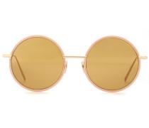 Sonnenbrille Scientist mit rundem Rahmen