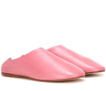 Leder-Slippers Agata