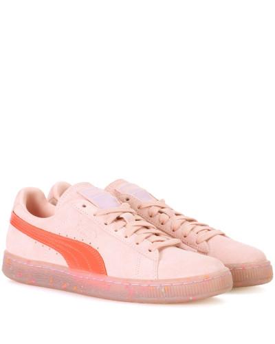 X Sofia Webster Sneakers Suede aus Veloursleder