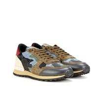 Garavani Sneakers Rockrunner aus Leder