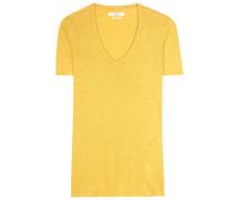 T-Shirt Kranger aus Leinen-Jersey