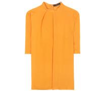Bluse aus Seiden-Georgette