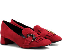Loafer-Pumps Carson aus Veloursleder