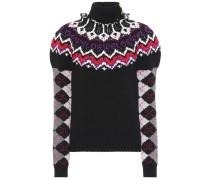 Pullover aus Wolle, Seide und Cashmere