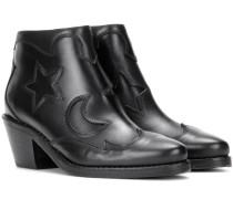 Ankle Boots Solstice aus Leder
