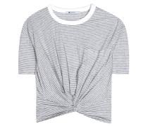 Geknotete T-Shirt aus Baumwolle