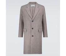 Einreihiger Mantel Arthur aus Wolle