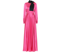 Robe Lela aus Seidensatin