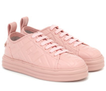 Sneakers FF aus Leder