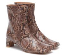 Ankle Boots Monica aus Leder