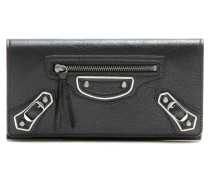 Leder-Portemonnaie Classic Metallic Edge Money