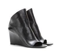 Wedge-Mules Prism aus Leder