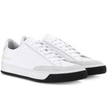 Sneakers Tennis Pro aus Leder