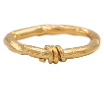 Vergoldeter Ring The Trembling Bough
