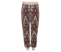 Trackpants mit Print