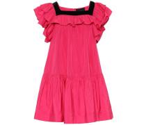 Minikleid aus Taft