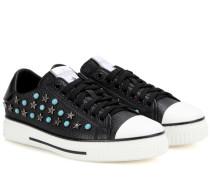 Garavani Sneakers Starstudded aus Leder