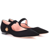 Ballerinas aus Samt
