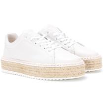 Espadrille Sneakers Kent aus Leder
