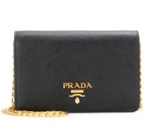 Crossbody-Tasche Galleria Small Lux aus Saffiano-Leder