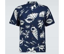 Bedrucktes Kurzarmhemd Hawaii