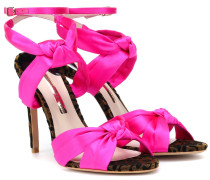 Sandalen Violette aus Satin