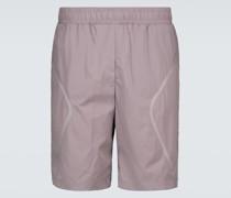 Shorts aus Tech-Material