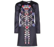 Verziertes Kleid aus Schurwolle