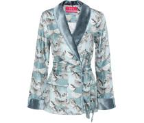 Kurzer Kimono aus Seide