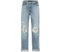Mid-Rise Boyfriend Jeans Tate