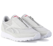 Sneakers Aztec Zip mit Veloursleder