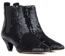 Ankle Boots Effie mit Pailletten