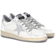 Sneakers Ball Star aus Leder
