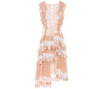 Asymmetrisches Kleid Folly Dizzy aus Seide