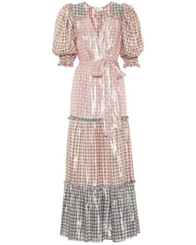 Kleid Stormi aus einem Seidengemisch