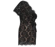 One-Shoulder-Kleid aus Spitze