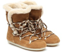 Ankle Boots Dark Side mit Shearling