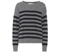 Gestreifter Pullover aus Cashmere