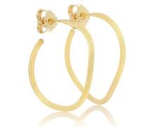 Ohrringe String aus 18kt Gelbgold