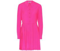 Hemdblusenkleid aus Wolle