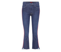 Jeans Insider Crop Step Fray